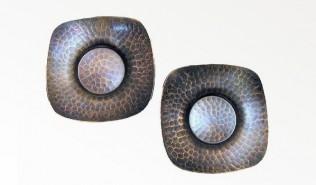 燕三条 鎚起銅器 西片正の玉露茶托