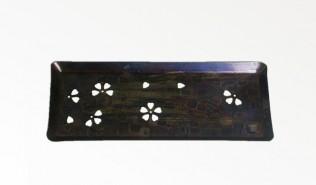 西片正のペン皿 風紋桜大